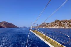 Sauts en mer Photo libre de droits