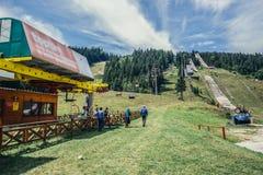Sauts olympiques d'Igman Photos stock