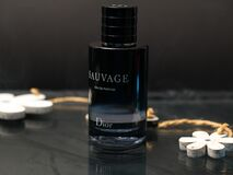SAUVAGE Parfum by Dior. Aftershave Perfume Fragrance for Men by French Fashion House Christian Dior. Usa, March 2020
