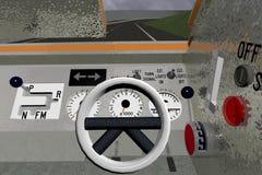 Sauvasaver仪表板面板 免版税图库摄影