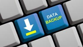 Sauvegarde des données en ligne photo libre de droits