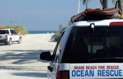 Sauvetage d'océan Photo libre de droits
