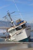 Sauvetage de bateau de pêche Photos libres de droits
