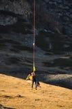 Sauvetage de montagne Photos libres de droits