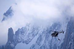 Sauvetage de montagne Photographie stock libre de droits