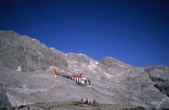 Sauvetage de montagne Image libre de droits