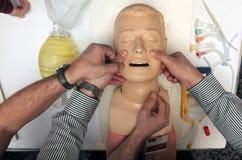 Sauvetage de poupée Photos libres de droits