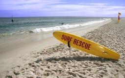 Sauvetage de vague déferlante Photos stock