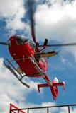 Sauvetage par hélicoptère Photos libres de droits