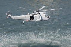 sauvetage par hélicoptère Image libre de droits