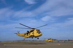 sauvetage par hélicoptère seaking Image stock