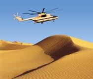 Sauvetage sur des dunes photographie stock libre de droits