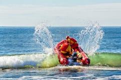 Sauveteurs australiens image stock