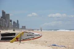 Sauveteurs de plage Photos stock