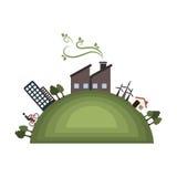 sauvez l'écologie de planète du monde Photo libre de droits