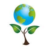 sauvez l'écologie de planète du monde Images libres de droits