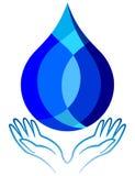 Sauvez l'eau Photo libre de droits