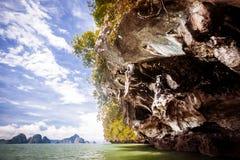 Sauvez la prévision de téléchargement Kor Hong dans Krabi Image stock
