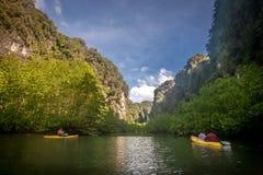 Sauvez la prévision de téléchargement Kor Hong dans Krabi Photos stock