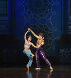 """Sauvez le  de Nights†de l'""""One mille et un de ballet de sirène Photos libres de droits"""
