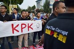 Sauvez le kpk pour l'Indonésie Photographie stock libre de droits