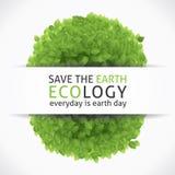 Sauvez notre terre Photo libre de droits