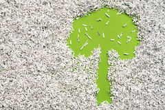 Sauvez un arbre Photographie stock