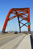 Sauvie Island Bridge. Stock Photos