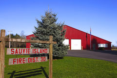 Sauvie island fire district 30, Oregon. Stock Images