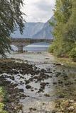 Sava Bohinjka river and Bohinj lake landscape, Slovenia Royalty Free Stock Photo