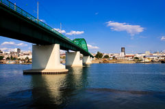 Sava bridge Royalty Free Stock Image