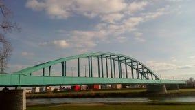 Sava Bridge a Zagabria Fotografia Stock