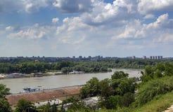 Sava river Stock Photo