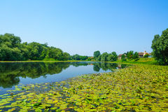 Sava River, Croatia Royalty Free Stock Images