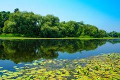 Sava River, Croatia Royalty Free Stock Image