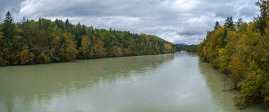 Sava river high waters. In the fall stock images