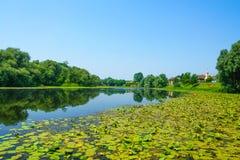 Sava River, Kroatien Lizenzfreie Stockbilder