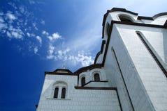 sava st寺庙 免版税库存图片