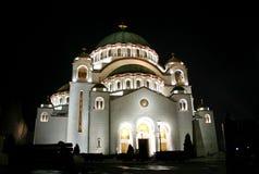 sava st temple Στοκ Εικόνες