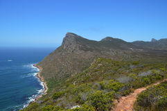The savage cliff at Cape of good hope Stock Photo