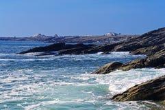 Savage coast of Quiberon Royalty Free Stock Photography