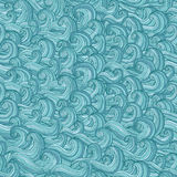 Savage Waves seamless pattern Royalty Free Stock Image
