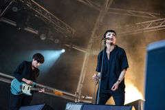 Savages concert Stock Image