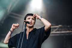 Savages concert Stock Photography