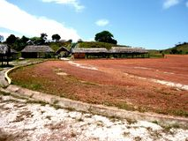 savane Amazone Venezuela de parc de huttes de paysage la grande images libres de droits