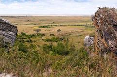 Savanna and grasslands, Madagascar Stock Images