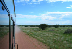 Savanna in Namibia, Africa stock photography