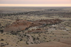 The savanna in Namibia Stock Images