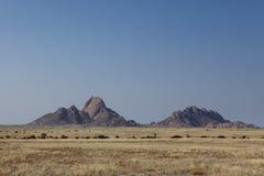 The savanna in Namibia Stock Photos