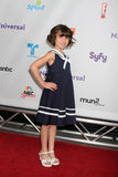Savanna Paige Rae che arriva all'estate 2011 del TCA di NBC tutto il partito della stella Immagine Stock Libera da Diritti